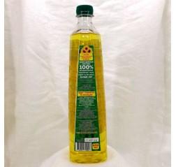 Масло Мамонт подсолнечное высокоолеиновое нерафинированное холодного отжима 800 мл.
