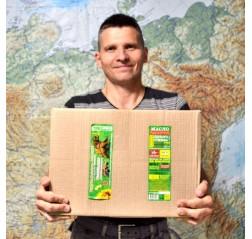 Коробка масла холодного отжима Высокоолеиновое для жарки 20 кг.(25 бутылок)