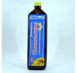 Масло подсолнечное холодного отжима для салатов Особое 800 мл.