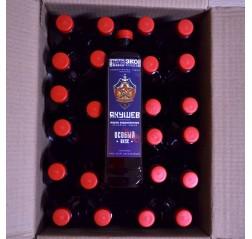 Коробка масла холодного отжима Якушев для салата 20 кг.